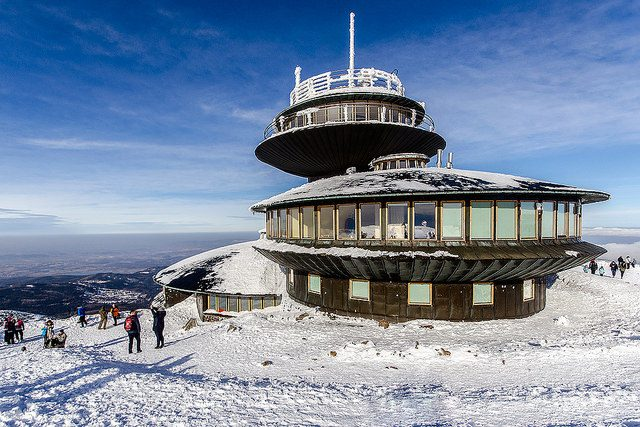 Osservatorio meteoriologico. Foto da Flickr