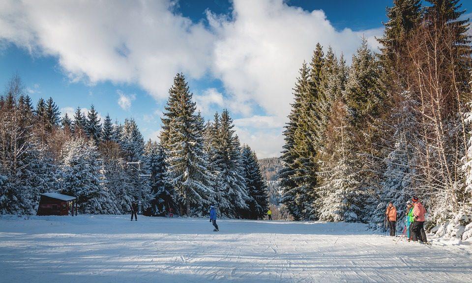 Sciare in Slovacchia. Foto di Walkerssk