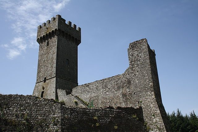 Rocca di Radicofani – Foto Wikimedia Commons