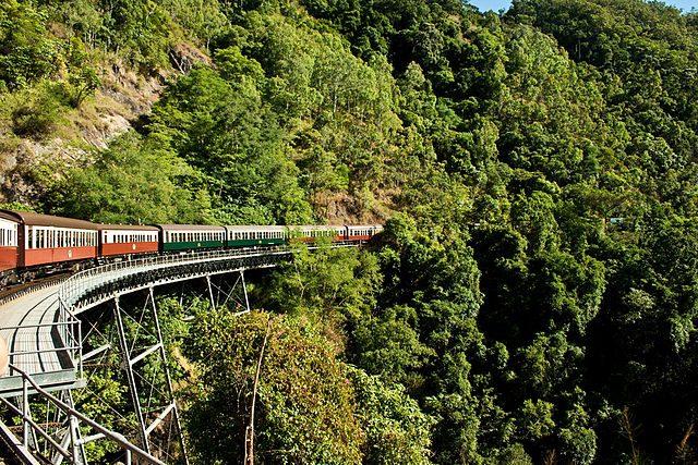 Kuranda Scenic Railway – Foto Wikimedia Commons