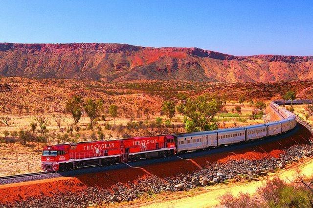 Treno Ghan – Foto di Roderick Eime