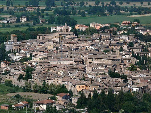Veduta di Bevagna – Foto Wikimedia Commons