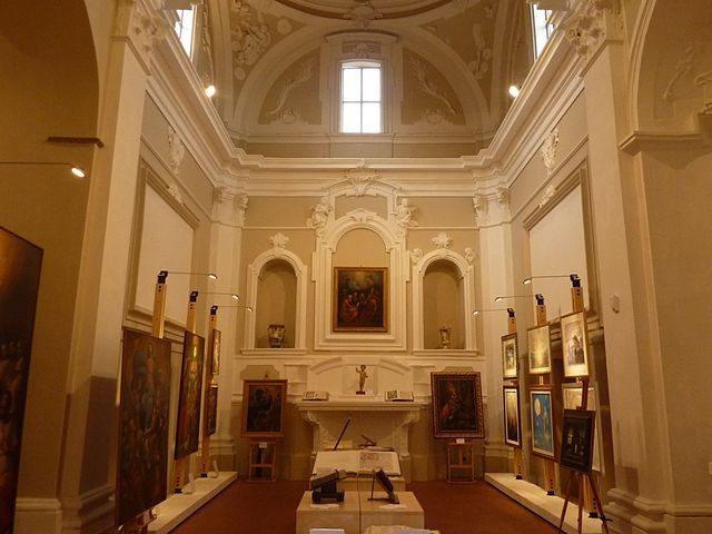 Roccamorice, centro d'arte e cultura Alberto Di Giovanni – Foto Wikimedia Commons