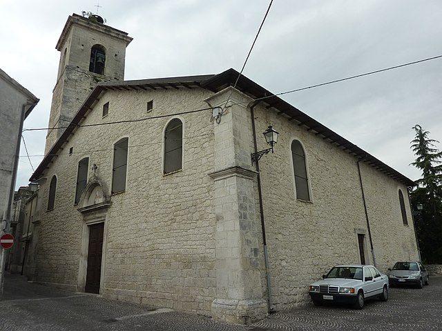 Roccamorice, Chiesa di San Donato Vescovo e martire – Foto Wikimedia Commons