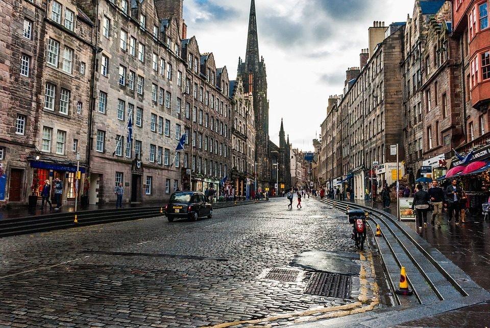 Edimburgo. Foto da Pixabay
