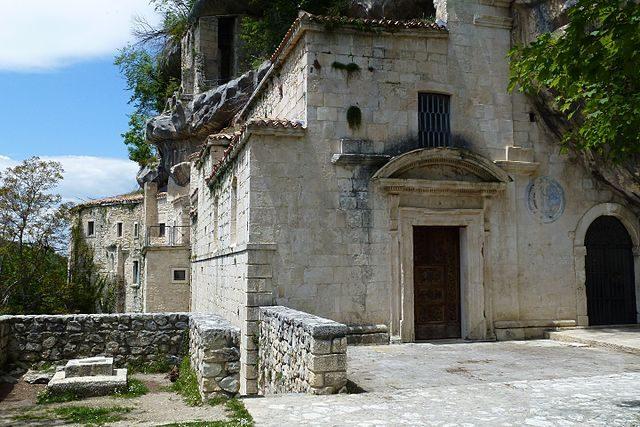 Eremo di Santo Spirito a Majella – Foto Wikimedia Commons