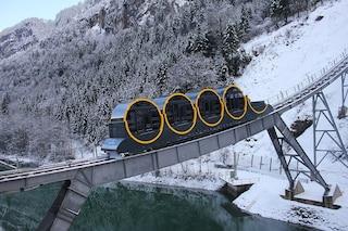 La funicolare di Stoos in Svizzera: la più ripida d'Europa