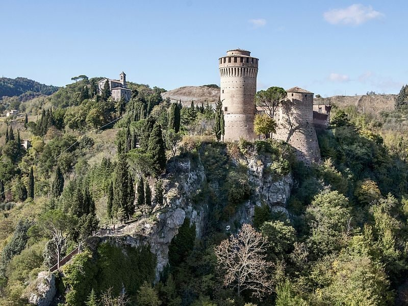 Rocca di Brisighella. Foto di Vanni Lazzari