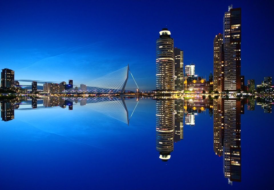Rotterdam. Foto da Pixabay