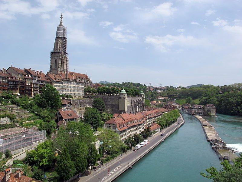 Berna, città vecchia. Foto di Sailko