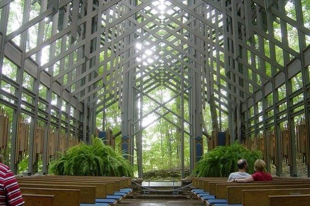 Eureka Springs, Thorncrown Chapel – Foto Wikimedia Commons