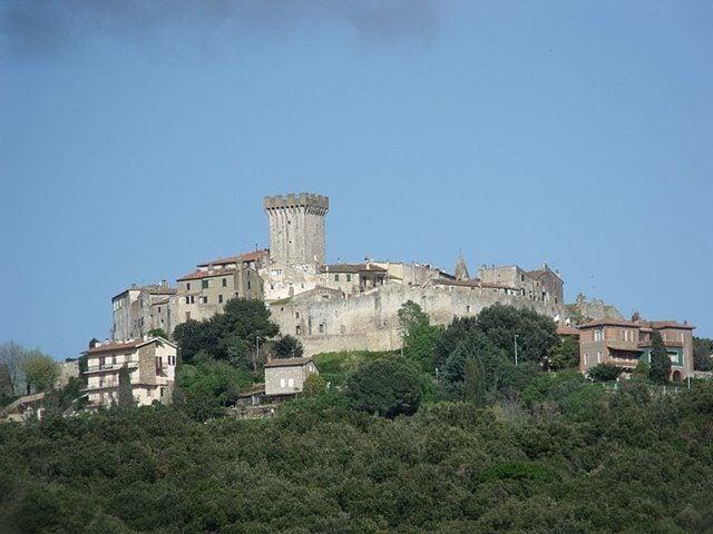 Panorama di Capalbio – Foto Wikipedia