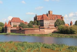 Castello di Malbork, un luogo da fiaba in Polonia