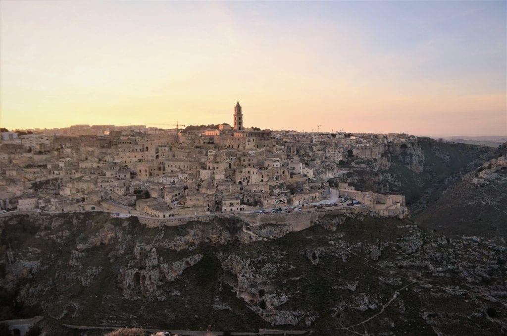 Panorama di Matera