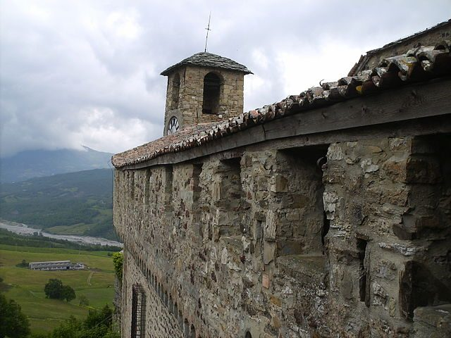 Mura di Bardi – Foto Wikipedia