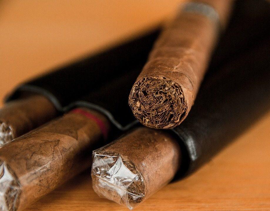 Sigaro cubano. Foto di Jackmac34