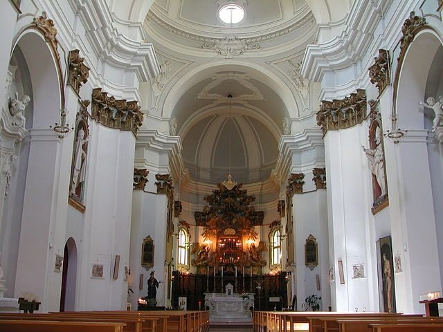 Chiesa di S. Agostino, interno – Foto Wikimedia Commons