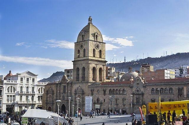 La Paz, Basilica di San Francisco – Foto Wikimedia Commons