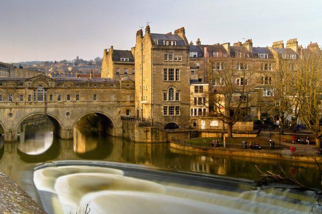 Bath. Foto diing