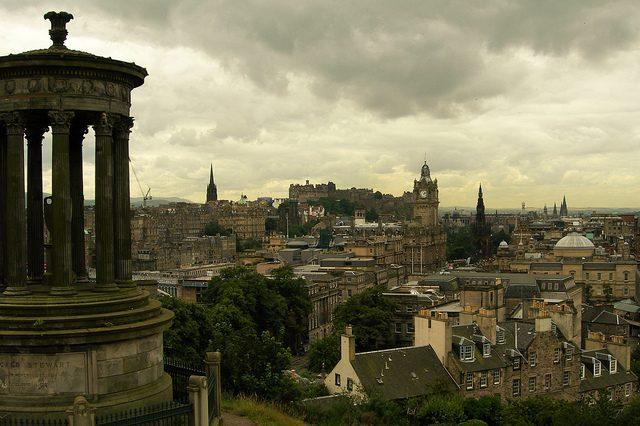 Vista di Edimburgo. Foto di Juan Antonio Segal