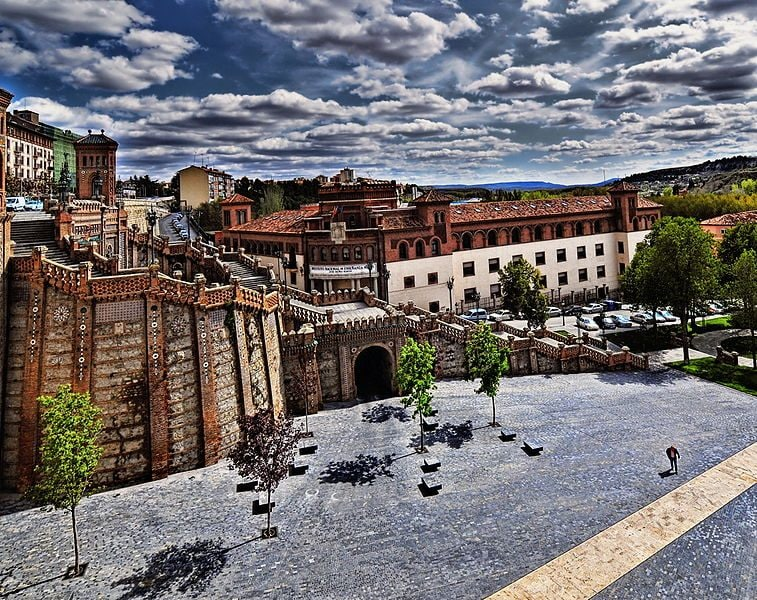 La escalinata di Teruel. Foto di Jose luiz Meza