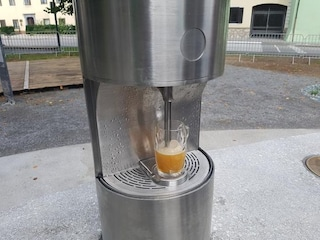 In Slovenia la prima fontana di birra al mondo