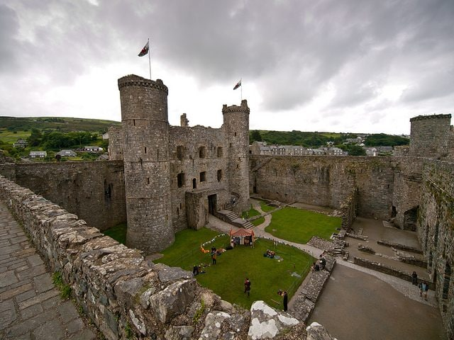 Harlech Castle. Foto di William Warby