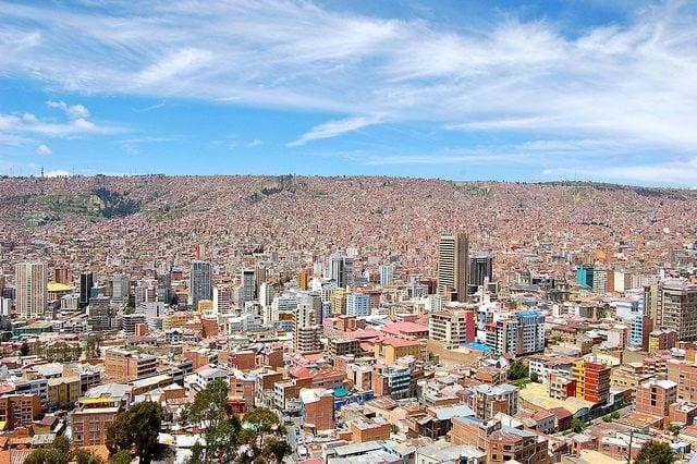 La Paz dal Mirador Killi Killi – Foto di Manuel Menal