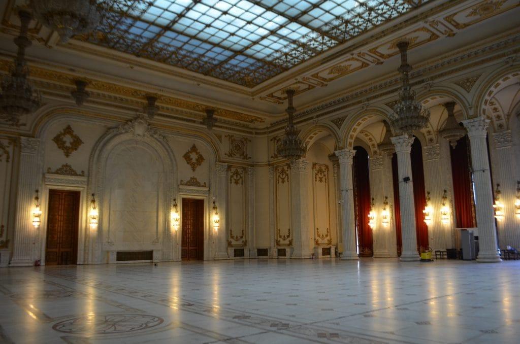Palazzo del Parlamento di Bucarest sala eventi