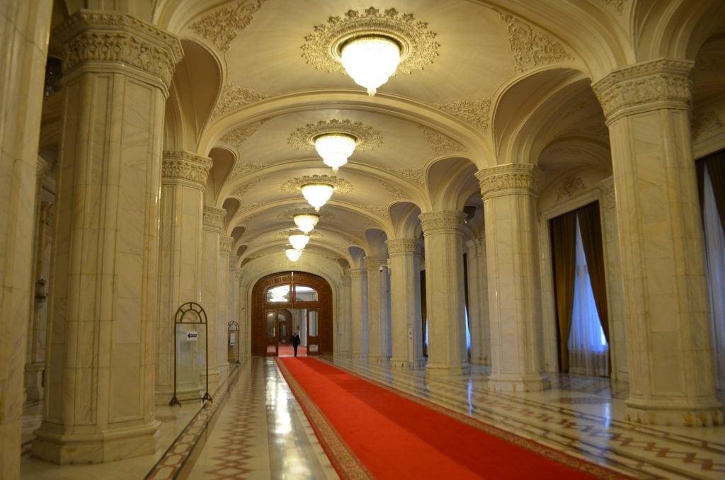 Palazzo del Parlamento di Bucarest stanze