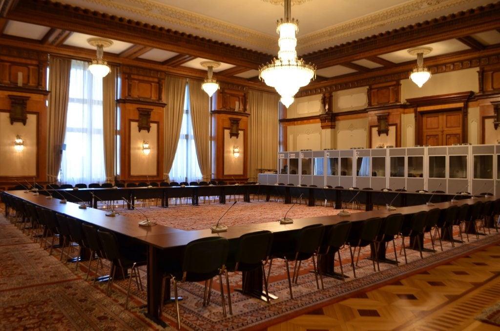 Palazzo del Parlamento di Bucarest uffici