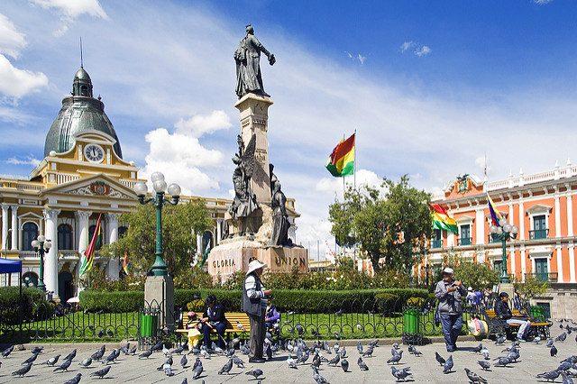 Plaza Murillo – Foto di Dimitri B.