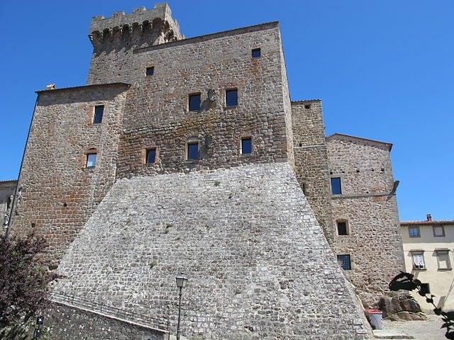 Arcidosso, Rocca Aldobrandesca – Foto Wikipedia