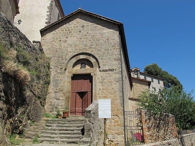 Arcidosso, Sant'Andrea – Foto Wikimedia Commons