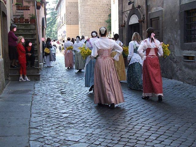 Vetralla, Sposalizio dell'Albero – Foto Wikipedia Commons