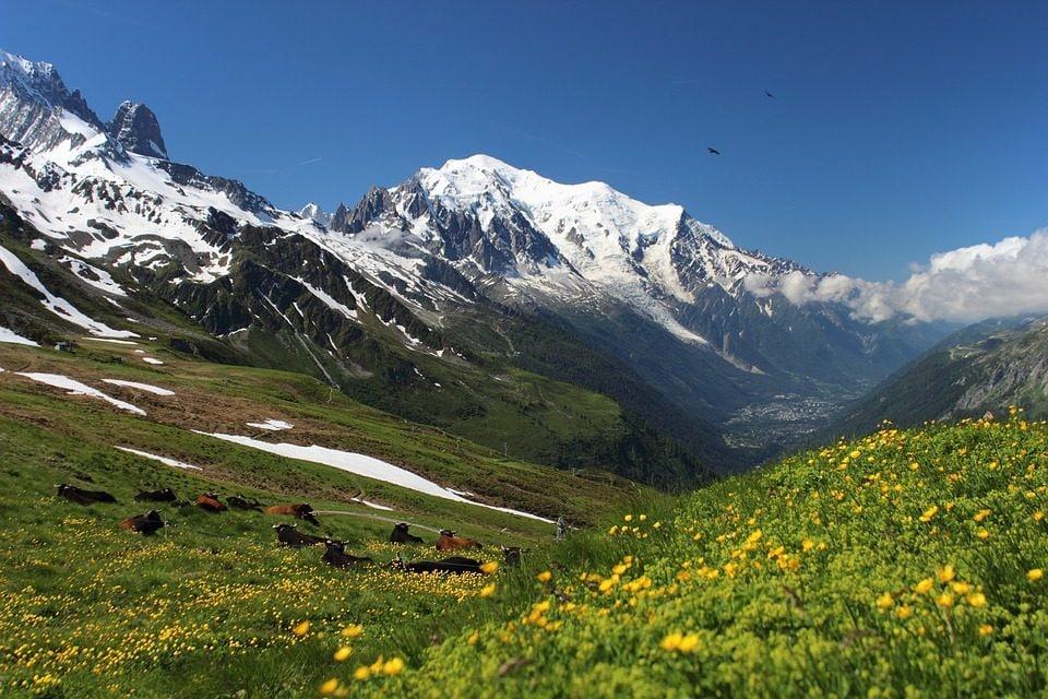 Monte bianco. Foto di SteenJepsen