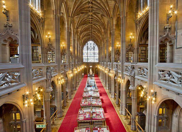 John Rylands Library Manchester
