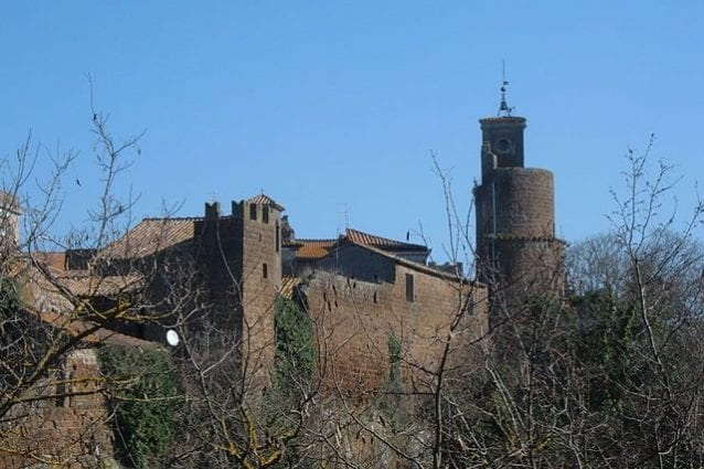Panorama di Barbarano Romano – Foto Wikimedia Commons