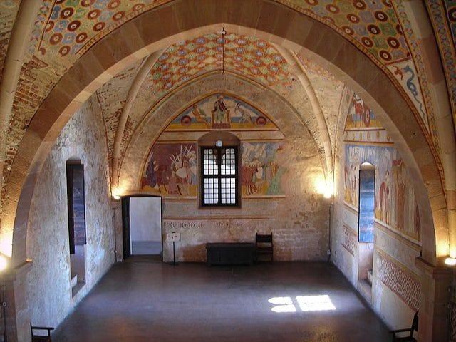 Rocca di Angera, Sala di Giustizia – Foto Wikipedia