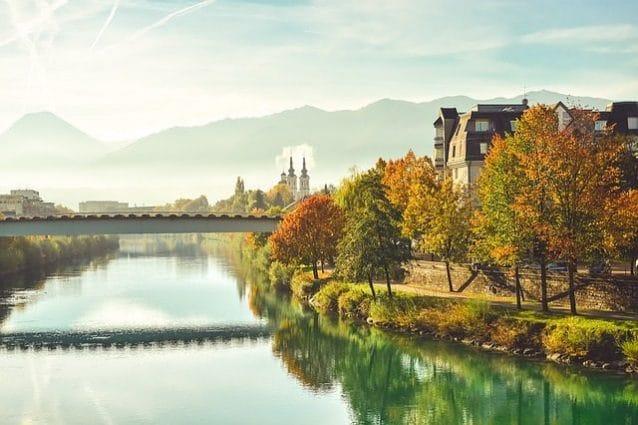 Villach in autunno – Foto Pixabay