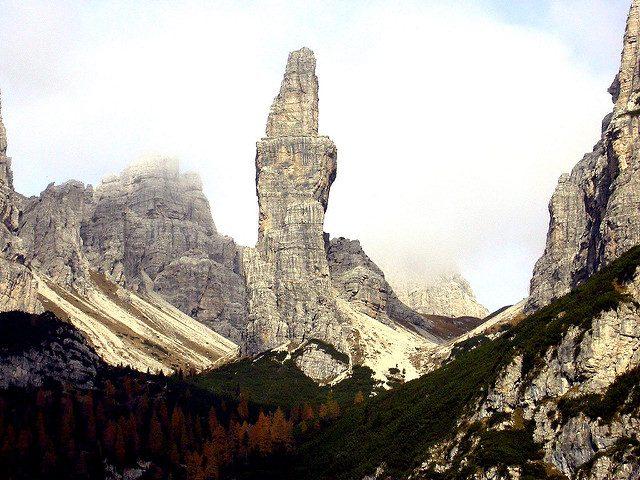 campanil di val montanaia