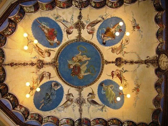 Affreschi di Luigi Agretti – Foto Wikimedia Commons