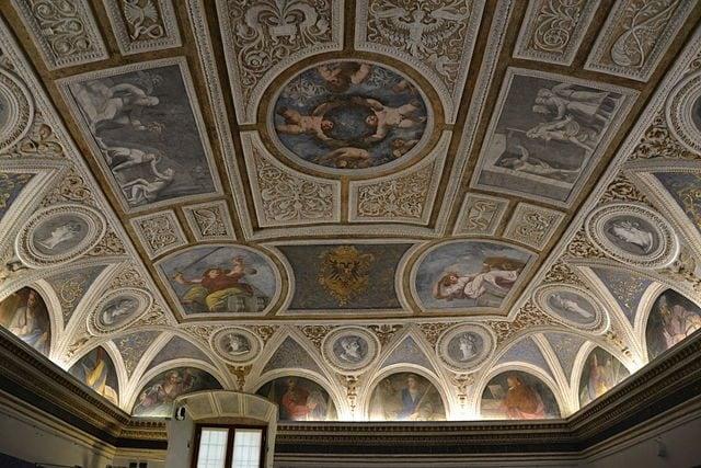 Affreschi dei fratelli Dossi nel Castello del Buonconsiglio – Foto Wikipedia