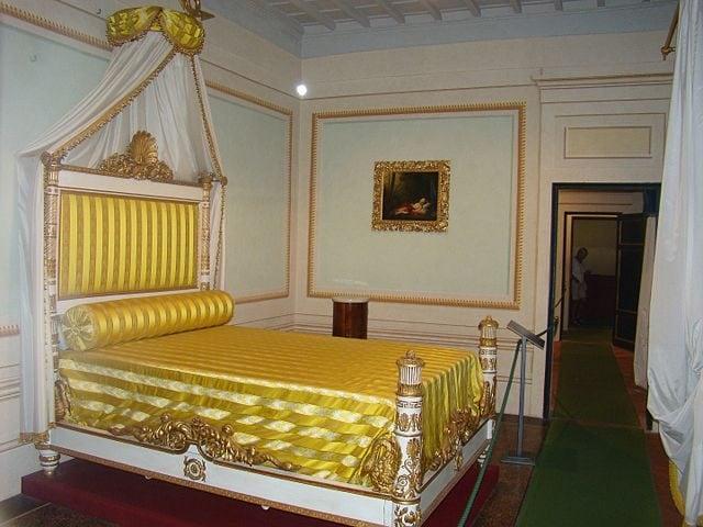 Camera da letto di Napoleone – Foto Wikipedia