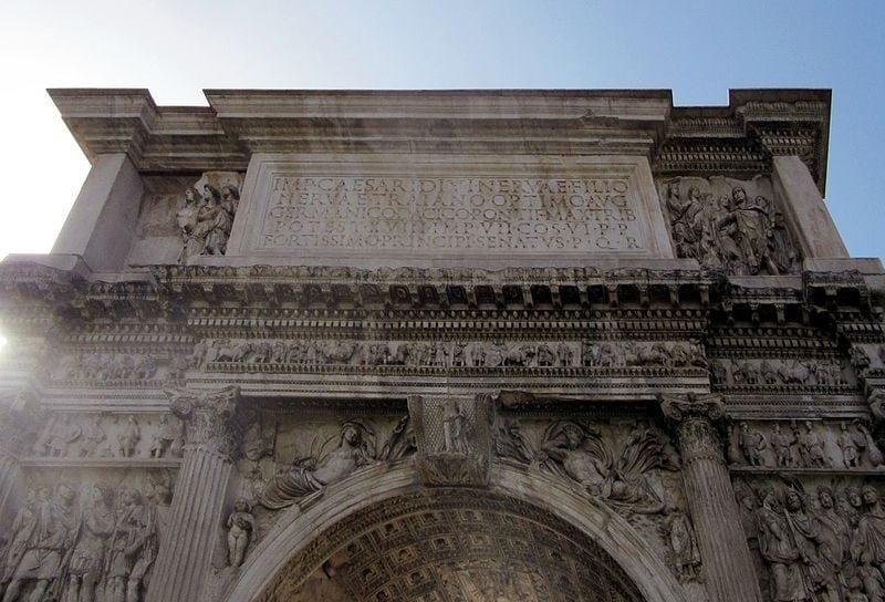 Arco di Traiano, Benevento