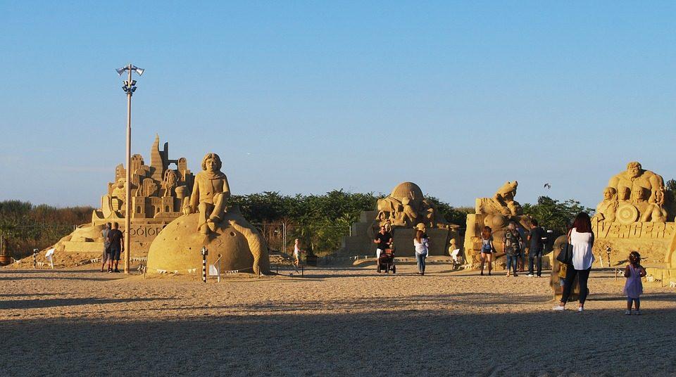 Burgas, Festival della sabbia