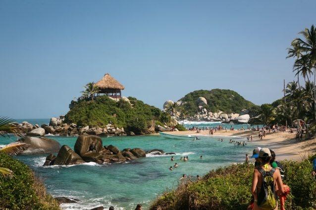 Cabo San Juan beach in Tayrona National Parque
