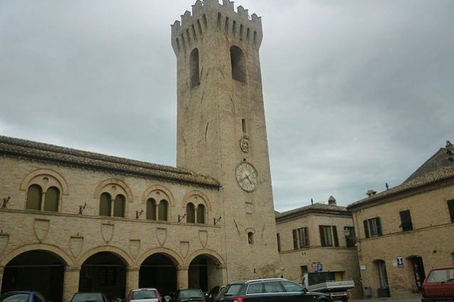 Montelupone, Palazzo dei Priori – Foto Wikimedia Commons
