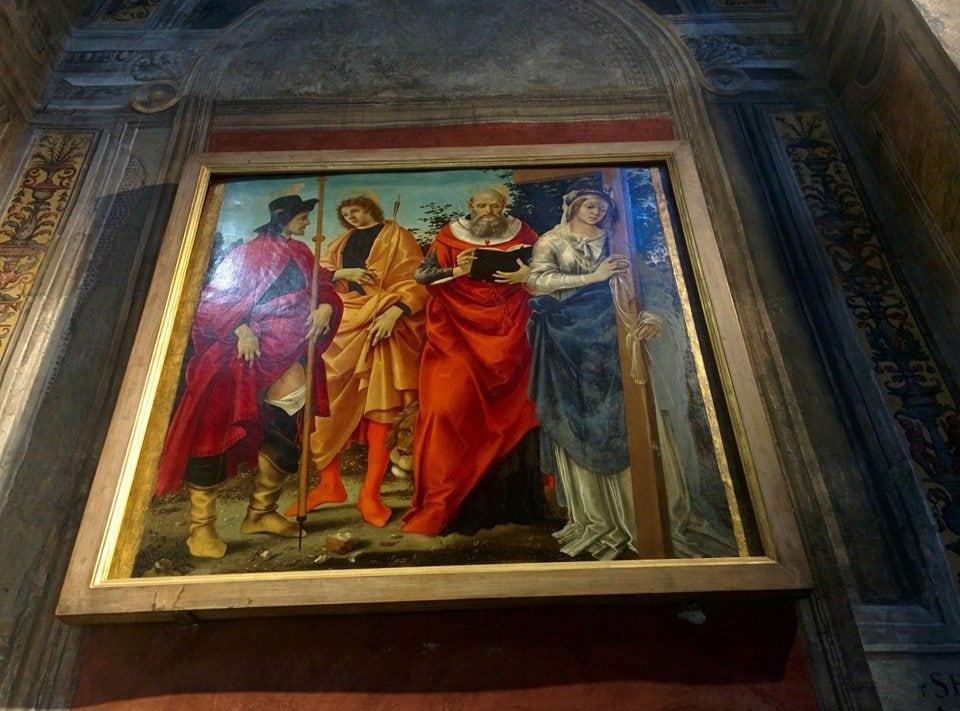 Filippino Lippi, Pala Magrini