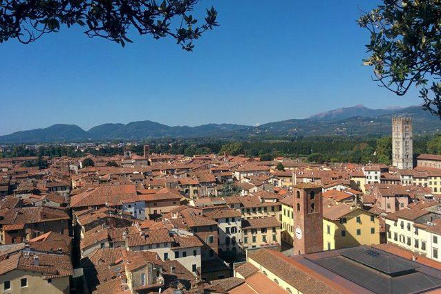 Veduta di Lucca